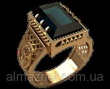 Золотой перстень 585 пробы