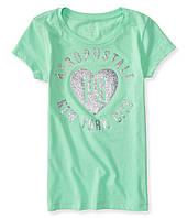 Легкая футболка для девочки от бренда Aeropostale; 10 лет