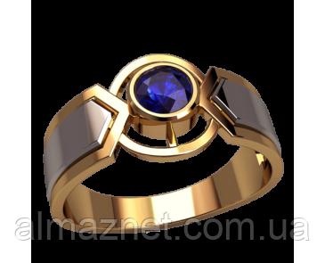Мужское золотое кольцо Рейна