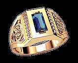 Золотой перстень Роскошь Персии, фото 2