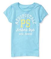 Брендовая футболка для девочки от Aeropostale; 10 лет