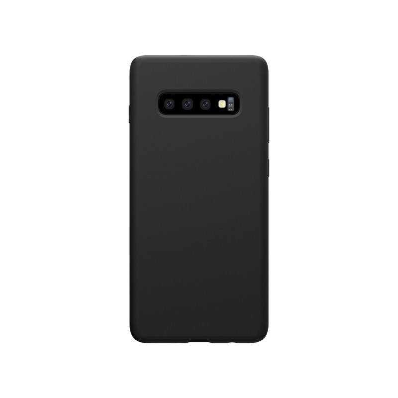 Nillkin Samsung G975F Galaxy S10+ Flex Pure Case Black Силиконовый Чехол