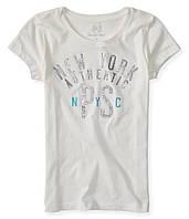 Детская футболка для девочки, бренд Aeropostale; 5, 7 лет