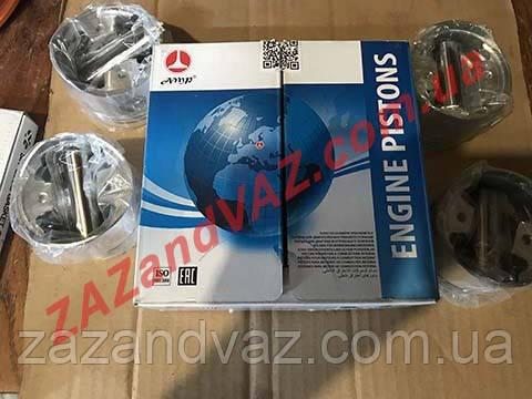 Поршни с пальцами Сенс Sens размер 75.5 объем 1.3 ремонт AMP Польша комплект 4F-4125-0050