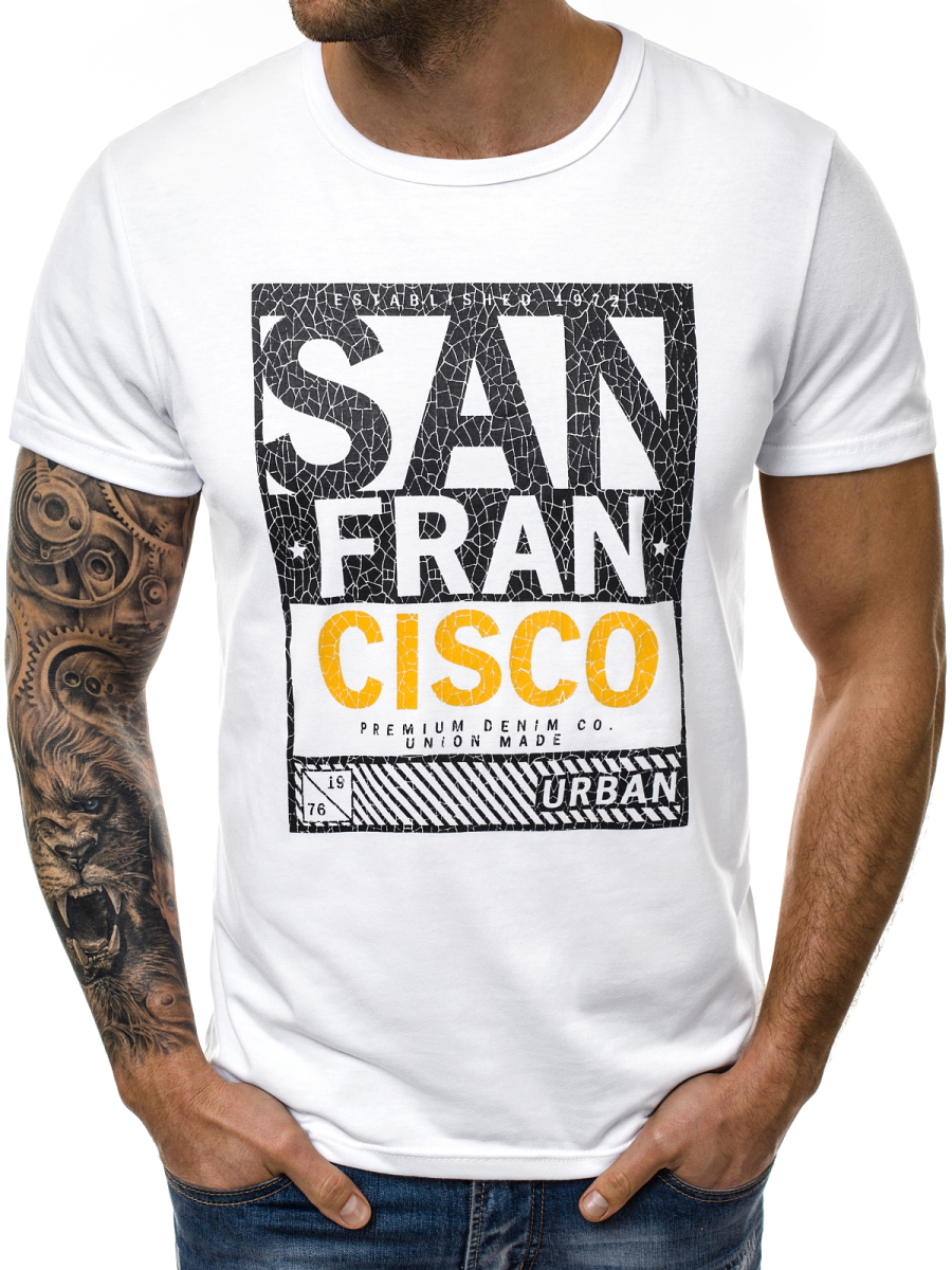 Мужская футболка J.Style San Francisco