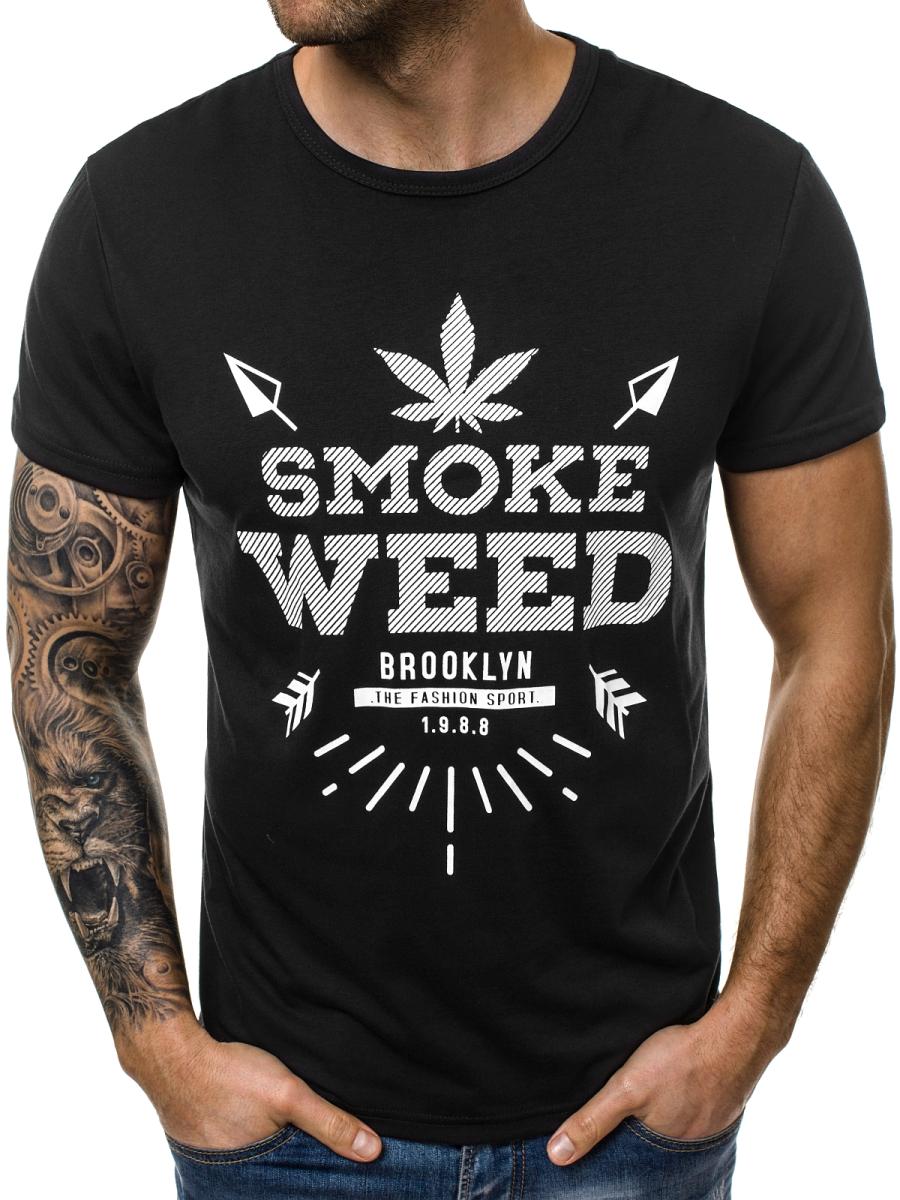 Мужская футболка J.Style Smoke Weed