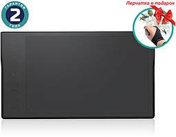 Графический планшет Huion Inspiroy Q11K + перчатка