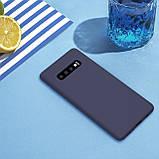 Nillkin Samsung G975F Galaxy S10+ Flex Pure Case Blue Силиконовый Чехол, фото 4