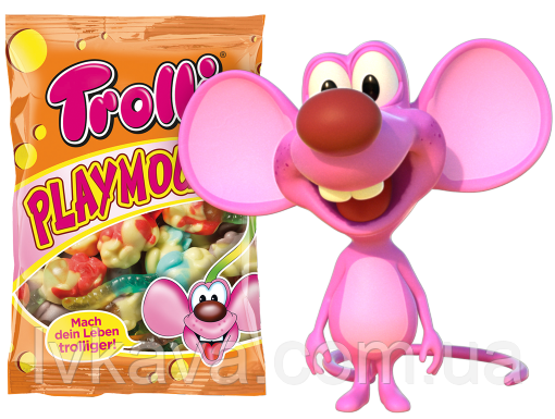 Желейные конфеты Trolli Playmouse  , 500 гр, фото 2