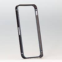 Бампер металлический для iphone 5/5s черный, фото 1