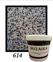 Мозаїка (Мармурова штукатурка) 25 кг № 614 (1мм)