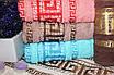 Банные турецкие полотенца Большое Версаче, фото 3