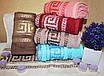 Банные турецкие полотенца Большое Версаче, фото 4