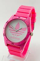 Мужские (Женские) кварцевые наручные часы Adidas, Pink