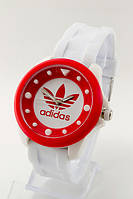 Женские (Мужские) кварцевые наручные часы Adidas, Dotted White, фото 1
