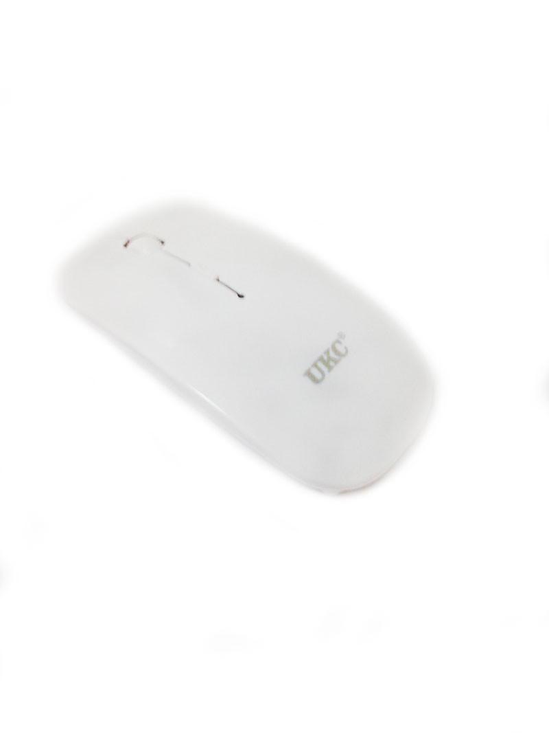 Беспроводная оптическая мышка UKC G132 белая