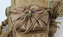Сумка через плечо на бедро штурмовая тактическая Battler v.1. Сумка через плече на стегно штурмова тактична., фото 2
