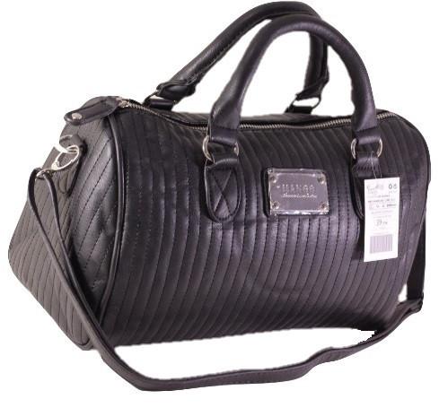 Сумка Mango Verti. Женская сумка среднего размера. Длинные ручки. Черная. Жіноча сумка. Довгі ручки.
