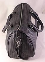 Сумка Mango Verti. Женская сумка среднего размера. Длинные ручки. Черная. Жіноча сумка. Довгі ручки., фото 3
