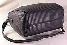 Сумка Mango Verti. Женская сумка среднего размера. Длинные ручки. Черная. Жіноча сумка. Довгі ручки., фото 2