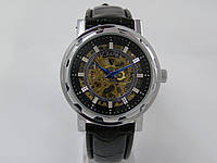 Мужские механические наручные часы скелетоны Слава, Созвездие, Silver
