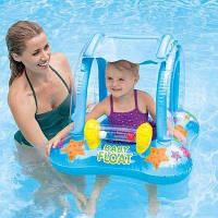 Круг плотик Intex Baby Float с трусиками и погремушкой