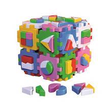 Куб Розумний малюк Супер Логіка ТехноК сортер