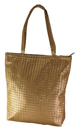 Женская блестящая сумка Texture. Длинные ручки. Жіноча сумка. Довгі ручки., фото 2