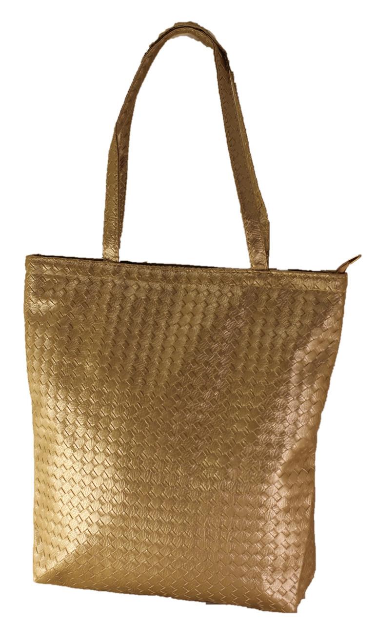 Женская блестящая сумка Texture. Длинные ручки. Жіноча сумка. Довгі ручки.