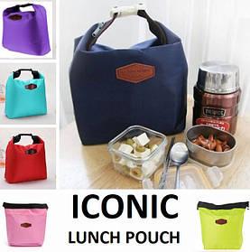 Термосумка-органайзер для ланча (обеда) Iconic. Термо-сумка для обіду.