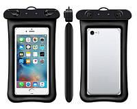 Водонепроницаемый плавающий чехол для телефона 4.0-5.5дюйма прозрачный Oxo. Водонепроникний чохол для телефона