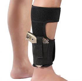 Кобура на ногу Leg holster скрытого ношения универсальная. Кобура на ногу прихованого носіння.