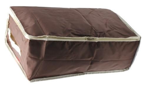 Органайзер Большой для хранения Одеял, подушек, вещей, одежды. Тканевый, на молнии, Дорожный.