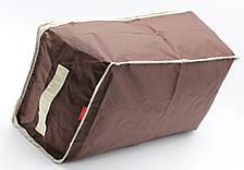 Органайзер Большой для хранения Одеял, подушек, вещей, одежды. Тканевый, на молнии, Дорожный., фото 2