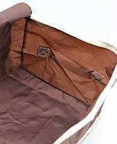 Органайзер Большой для хранения Одеял, подушек, вещей, одежды. Тканевый, на молнии, Дорожный., фото 3