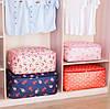 Органайзер Большой для хранения Одеял, подушек, вещей, одежды. Тканевый, на молнии, Дорожный., фото 5