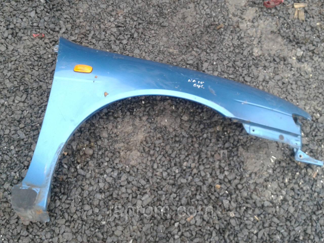 Крыло переднее правое Nissan Almera N15 1995-2000г.в. светло синие