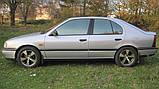 Стекло передней двери левой Nissan Primera 10 1990-1995г.в 4/5 дв., фото 2
