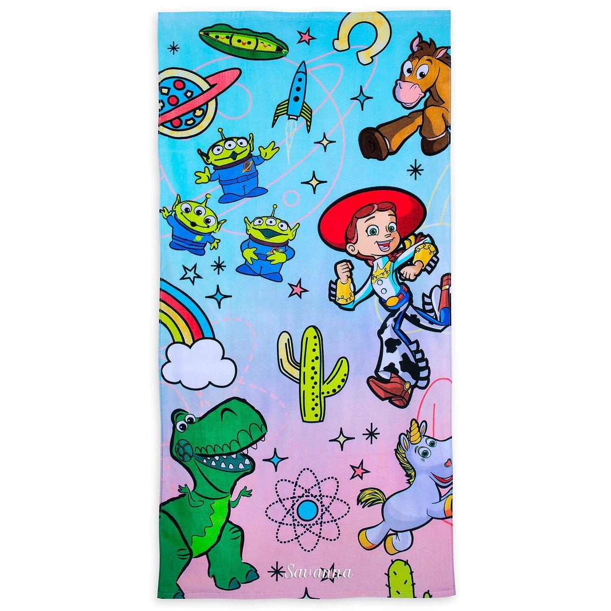 Детское махровое полотенце Дисней Disney История игрушек Toy Story Beach Towel