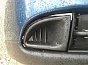 Бампер передний Nissan Primera P11 2000-2001г.врестайл с заглушками синий, фото 3