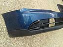 Бампер передний Nissan Primera P11 2000-2001г.врестайл с заглушками синий, фото 4