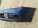 Бампер передний Nissan Primera P11 2000-2001г.врестайл с заглушками синий, фото 5