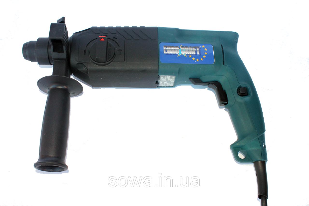 ✔️ Прямой Перфоратор Euro Сraft - 2401 / 680 Вт, 2.7Дж / Гарантия 12 мес!