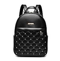 Женский городской рюкзак. Стильные женские рюкзаки в трех цветах: черный, серый, белый., фото 1