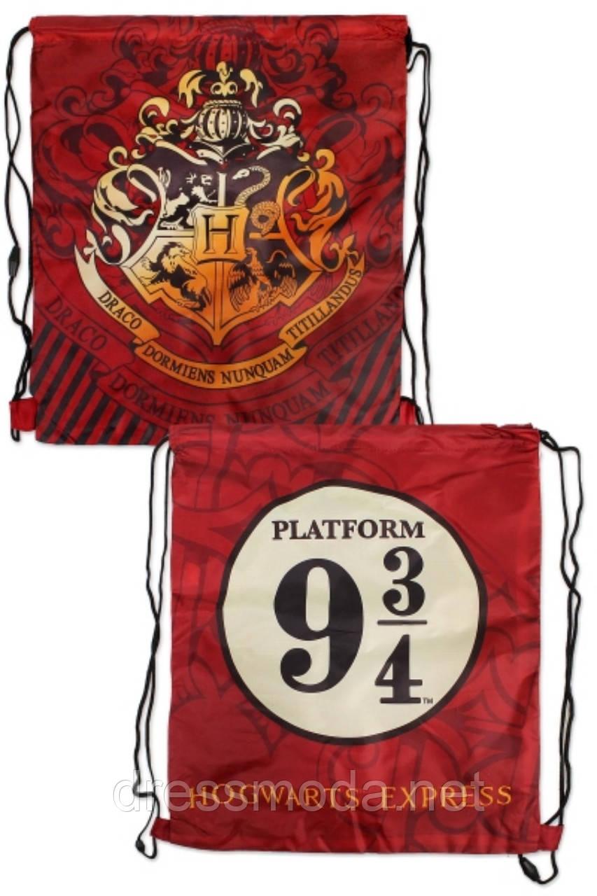 Рюкзак-мішечок дитячий для хлопчиків Harry Potter 41*33 см