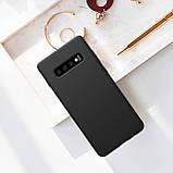 Nillkin Samsung G973F Galaxy S10 Flex Pure Case Black Силиконовый Чехол, фото 4