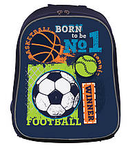 "Каркасный школьный рюкзак  H-27 ""Football winner"",серия ""Shalby"" 557713"