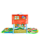 Развивающий коврик для ребенка в виде домика Lionelo Agnes, фото 2