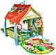 Развивающий коврик для ребенка в виде домика Lionelo Agnes, фото 3