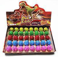 Дино инкубатор 40шт 4.5x3.5см растишка яйцо динозавра растущий динозавр